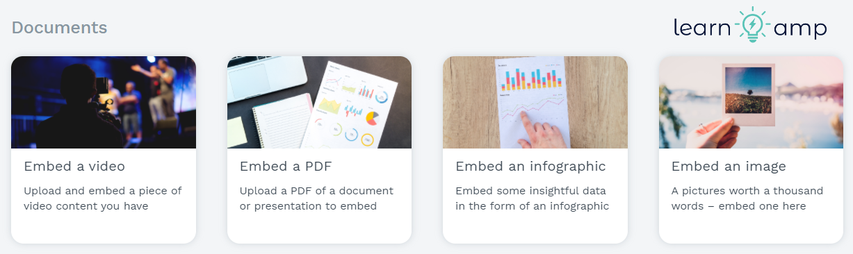 Update your own portfolio with Learn Amp